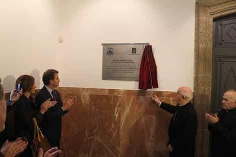 Inauguração do novo Centro de Acolhida aos Peregrinos, em Santiago de Compostela