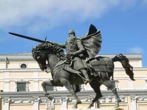 Estátua de El Cid em Burgos