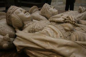 Tumba de El Cid e Jimena na Catedral de Burgos