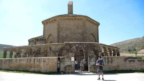 Ermita de Santa Maria de Eunate, perto de Puente de La Reina