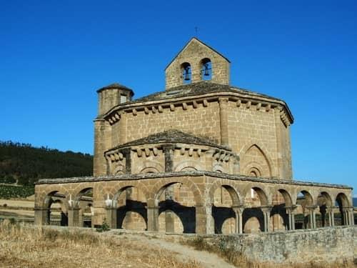 Igreja de Santa Maria de Eunate, também conhecida como Ermita de Eunate.