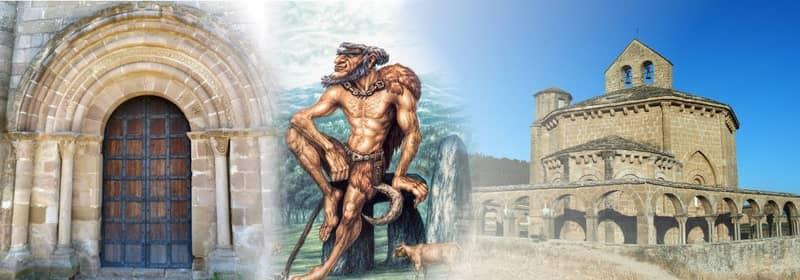 A Lenda dos Pórticos Gêmeos de Eunate