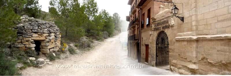 etapa entre Los Arcos e Logroño