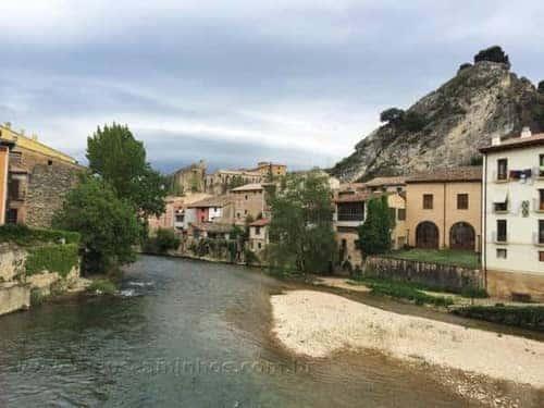 Rio Ega, em Estella