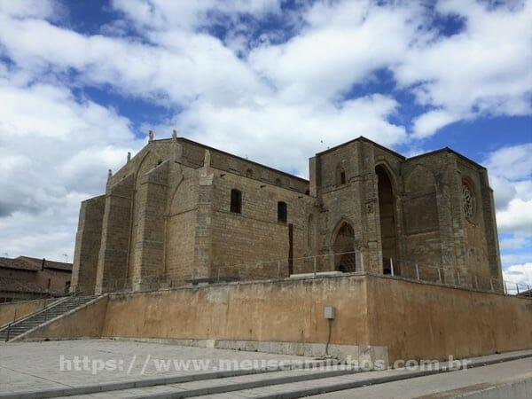 Igreja de Santa Maria la Blanca em Villalcazar de Sirga