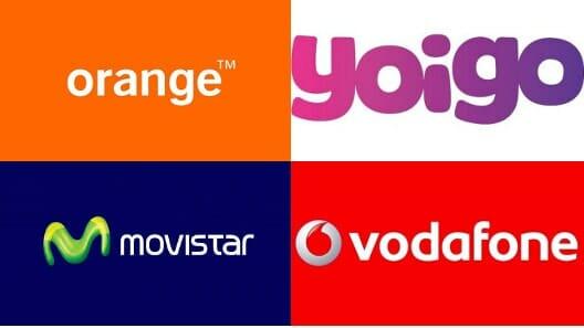 Nome das operadoras espanholas de celular que tem rede própria