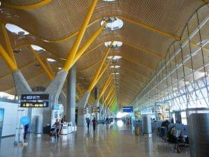 Aeroporto Barajas, em Madri