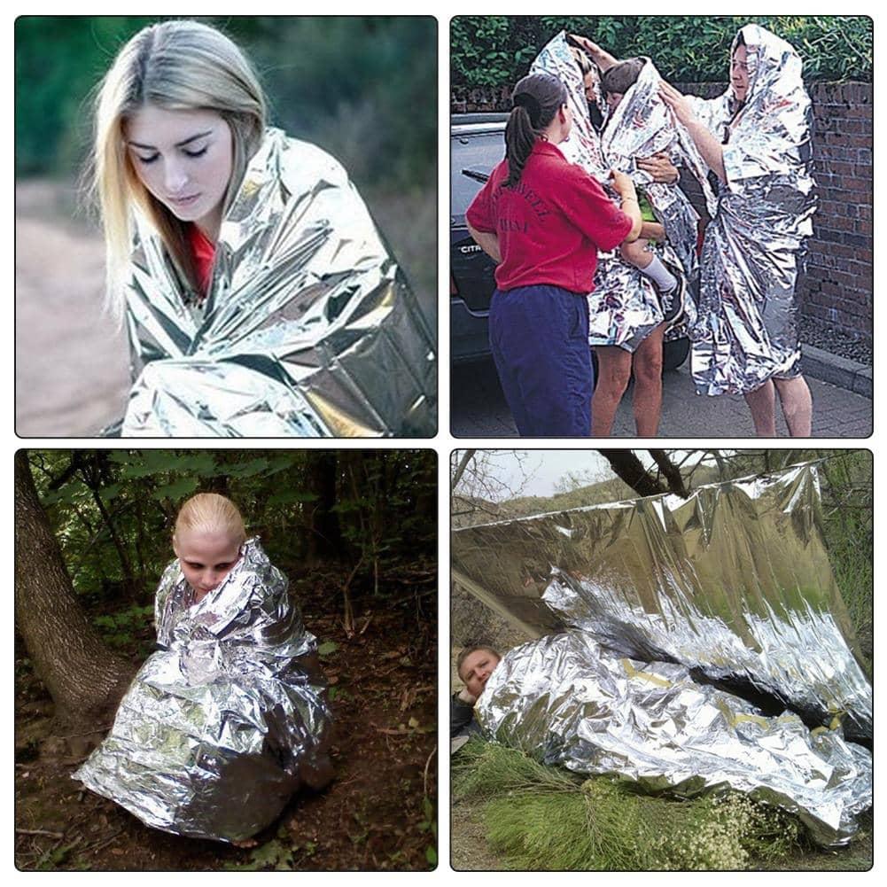 Cobertor térmico de emergência