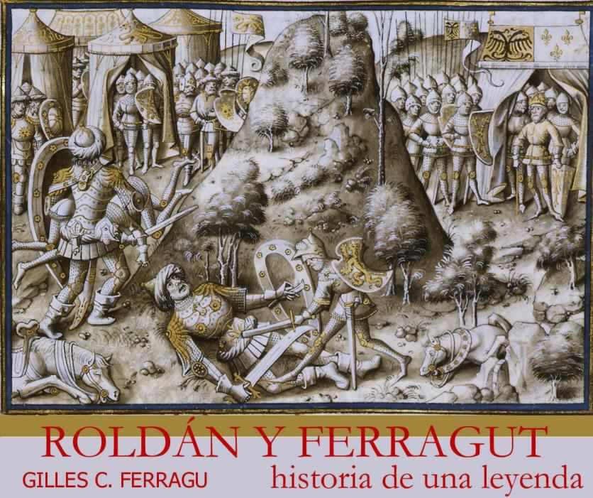 Representação do famoso combate, em um capitel do Palácio dos Reis da Navarra.