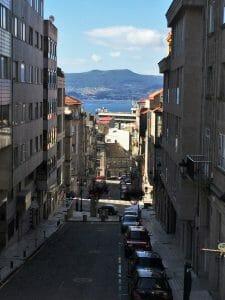Vigo, na Espanha (Galícia), a cerca de 130km de Santiago de Compostela